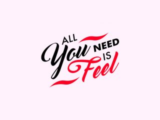 All You need is Feel. <i>Web design, logo design e concept</i>