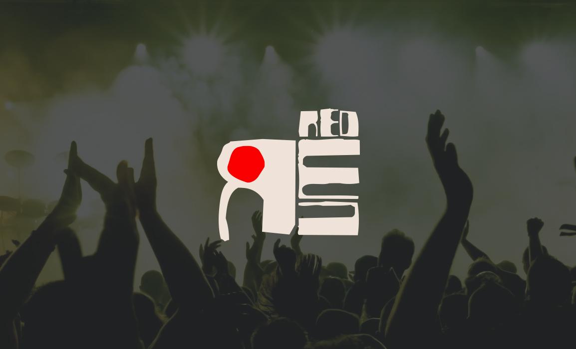 Redrum, burning blast power funk. <i>Logo design e comunicazione social</i>