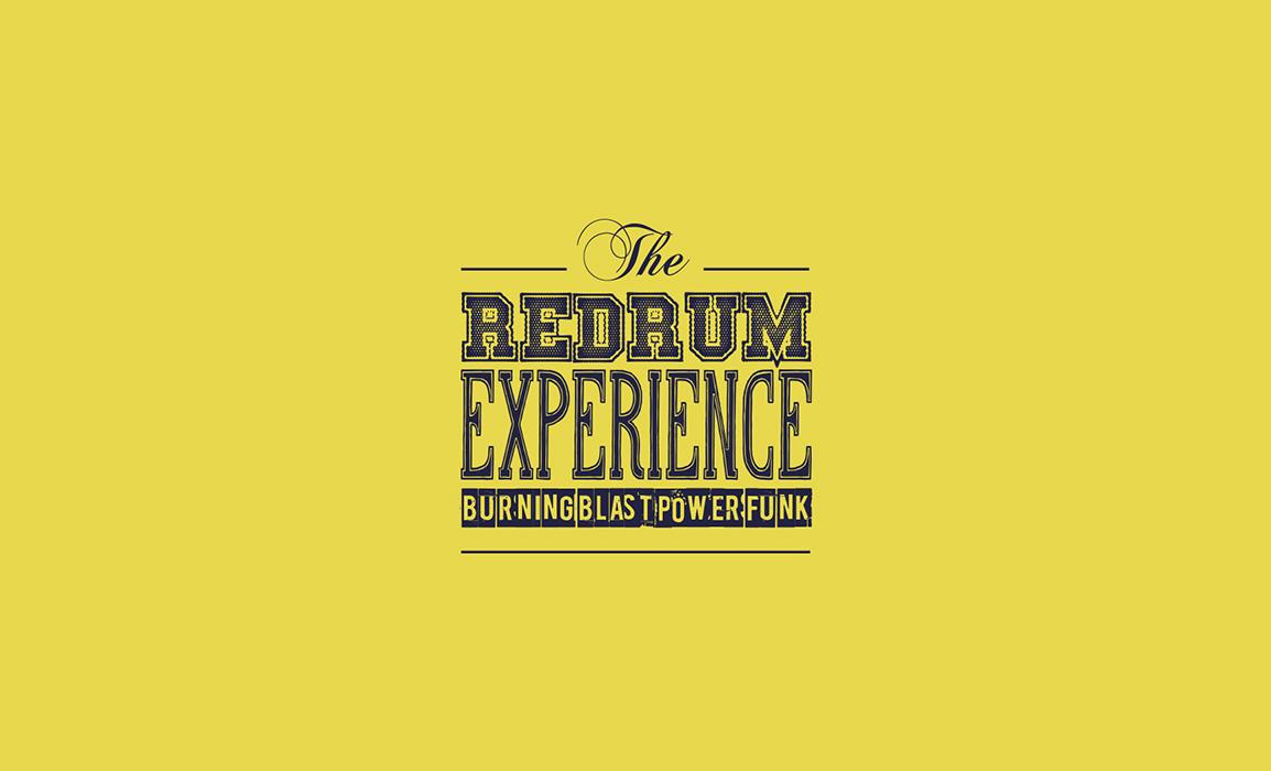 The Redrum Experience. Studio del logotipo.
