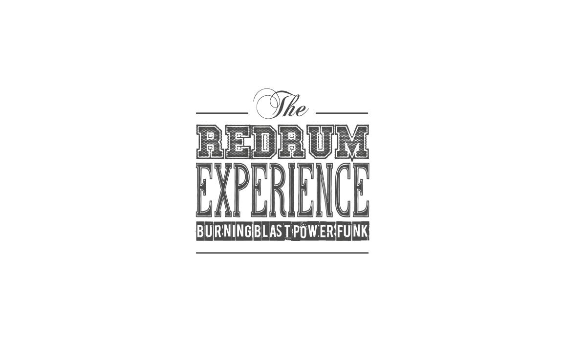 The Redrum Experience. Studio del logo.