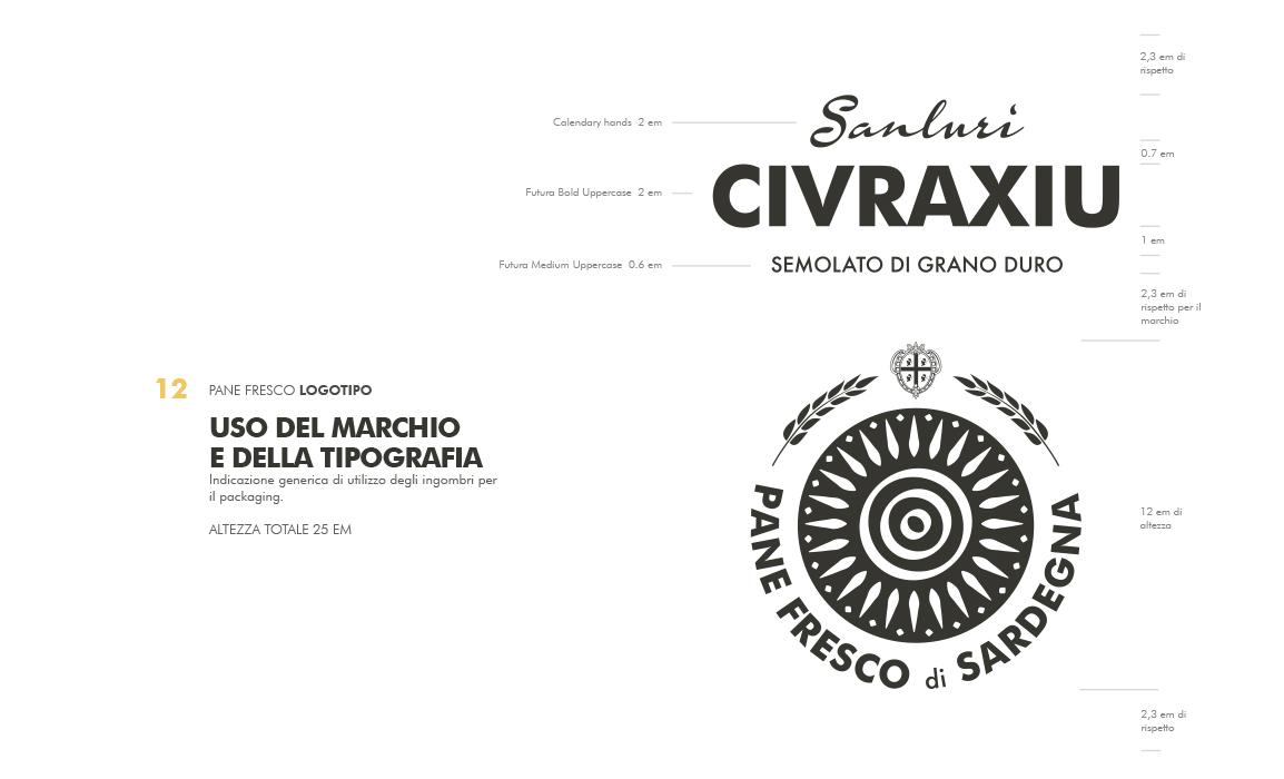 Manuale di utilizzo e applicazione del marchio. Elaborato per il bando regio sulla creazione di un marchio per la tutela del pane fresco di Sardegna.