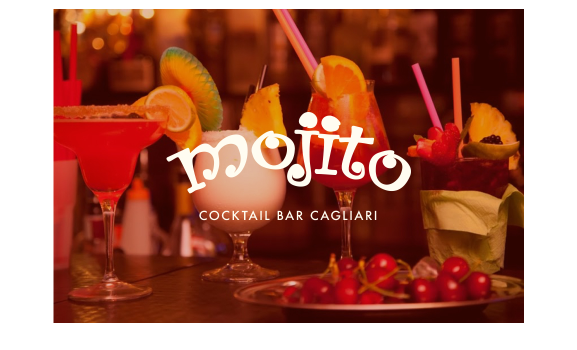 Restyling logo Mojito. Old Stones Design, restyling del logo storico del Mojito Cocktail Bar di Cagliari.