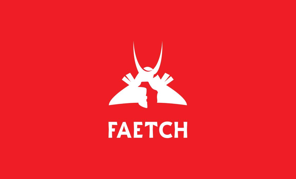 Faetch, logo design. Concept e prove cromatiche