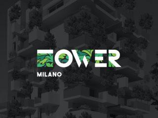 Proposta di design per un palazzo di Milano. <i>Logo design e manifesto pubblicitario</i>