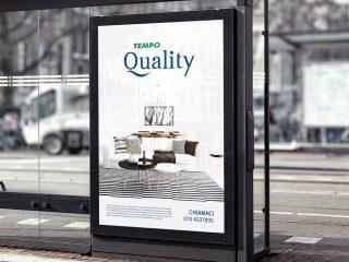 Tempocasa, studio del brand Tempo Quality. <i>Realizzazione del Brand e del font</i>
