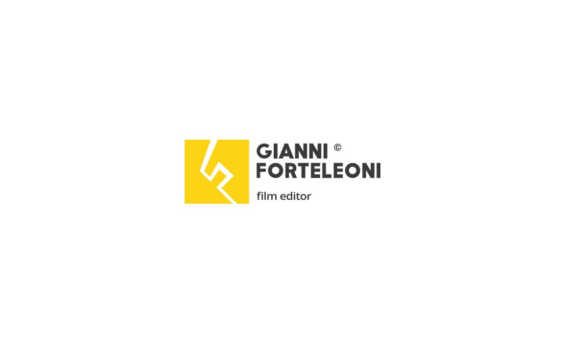 Alternativa del logotipo con l'astrazione della lettera F su una prospettiva angolare che conferisce dinamicità.