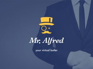 Mr. Alfred, your personal butler