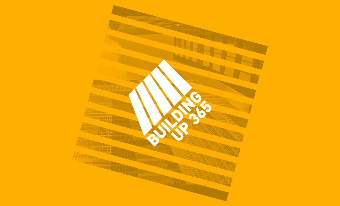 Versione in negativo del logotipo con un background evocativo che suggerisce un esempio di utilizzo del marchio.