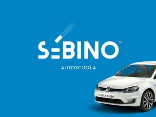 Sebino, autoscuola. <i>Brand identity, marchio e comunicazione</i>
