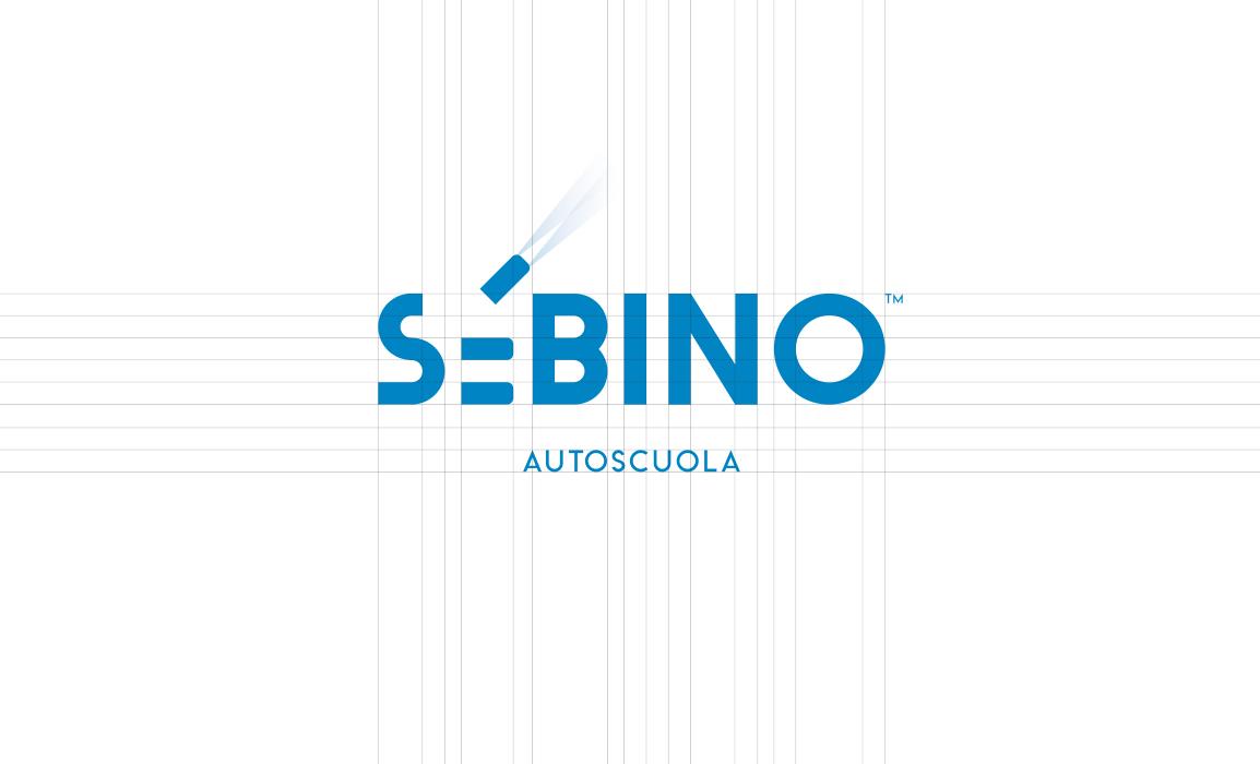 Il logotipo è stato costruito su una griglia regolare, con un font disegnato ad hoc.