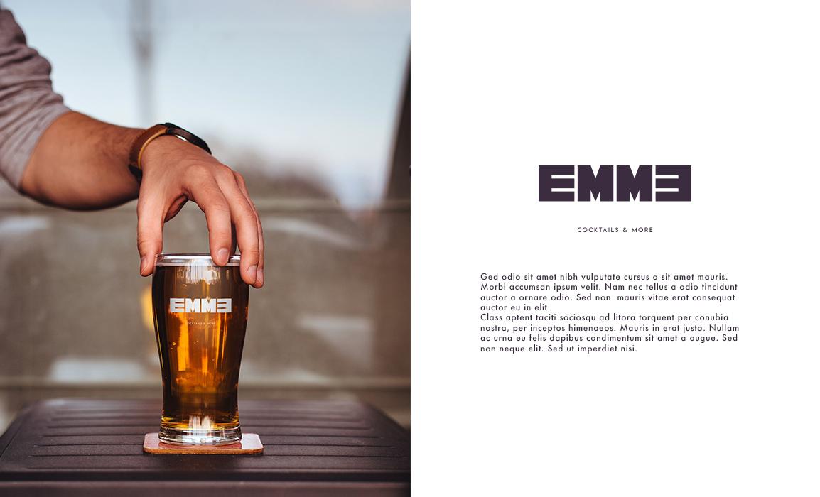 Applicazione del marchio su un boccale da birra.
