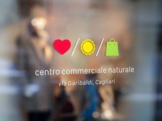 Centro Commerciale Naturale, via Garibaldi, Cagliari. <i>Logo, Brand Identity, Comunicazione</i>