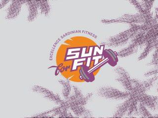 Sun for Fit, excellence sardinian fitness. <i>Logo, Brand Identity, Comunicazione</i>