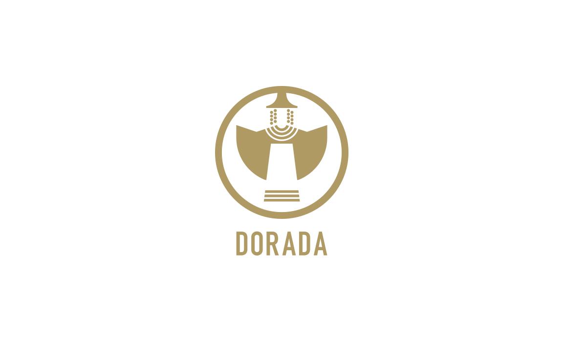 Il brand Dorada è la stilizzazione di uno dei più famosi bronzetti nuragici. Il nome ricorda il colore del frumento e dei campi nella stagione della mietitura.