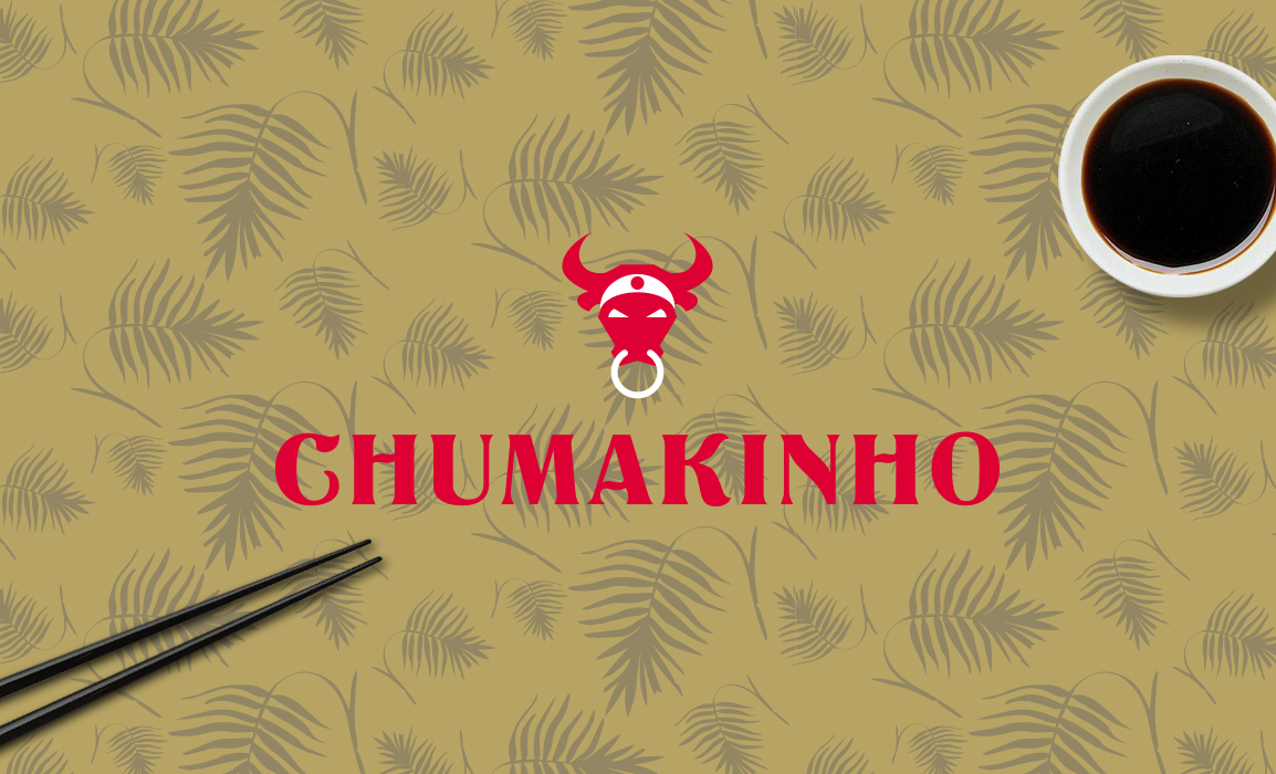 Stilizzazione di un toro con una bandana giapponese. Il concept racconta l'accostamento tra il Giappone e il Brasile.