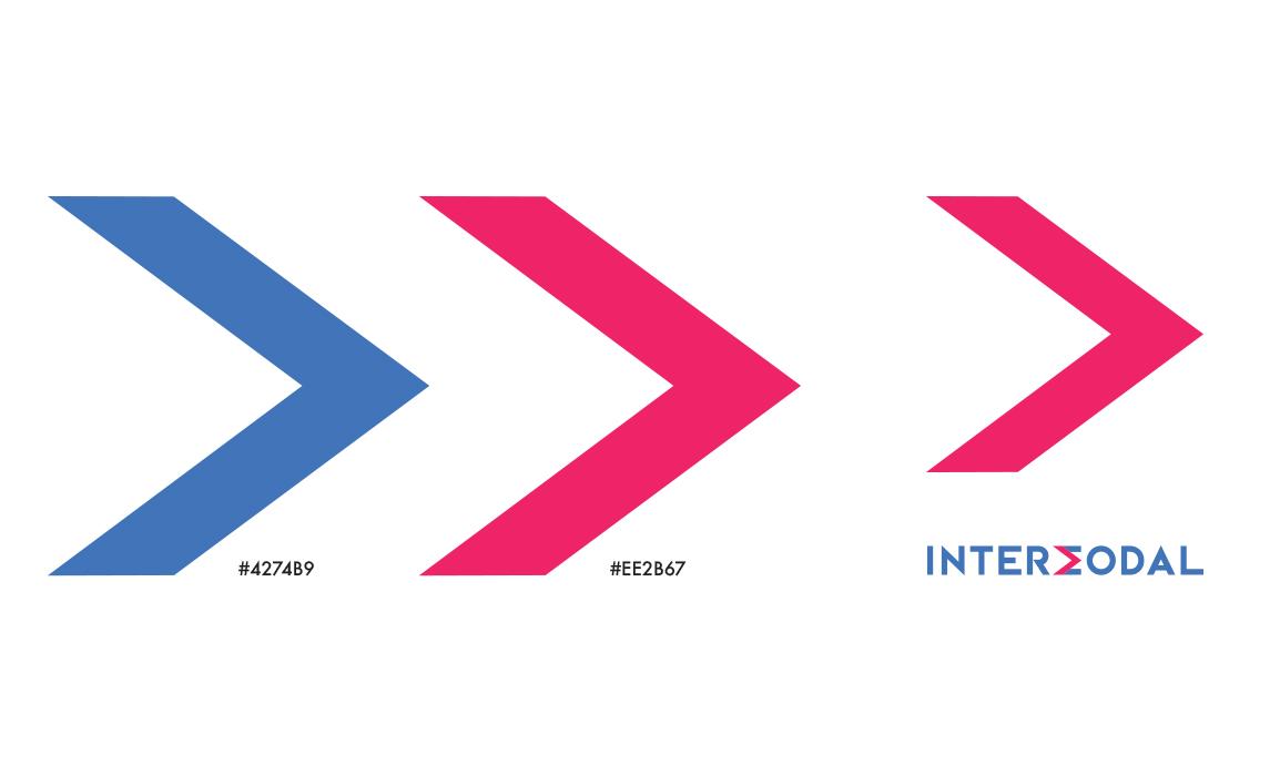 Il rosso e il blu sono i colori aziendali. In questo progetto sono stati saturati maggiormente.