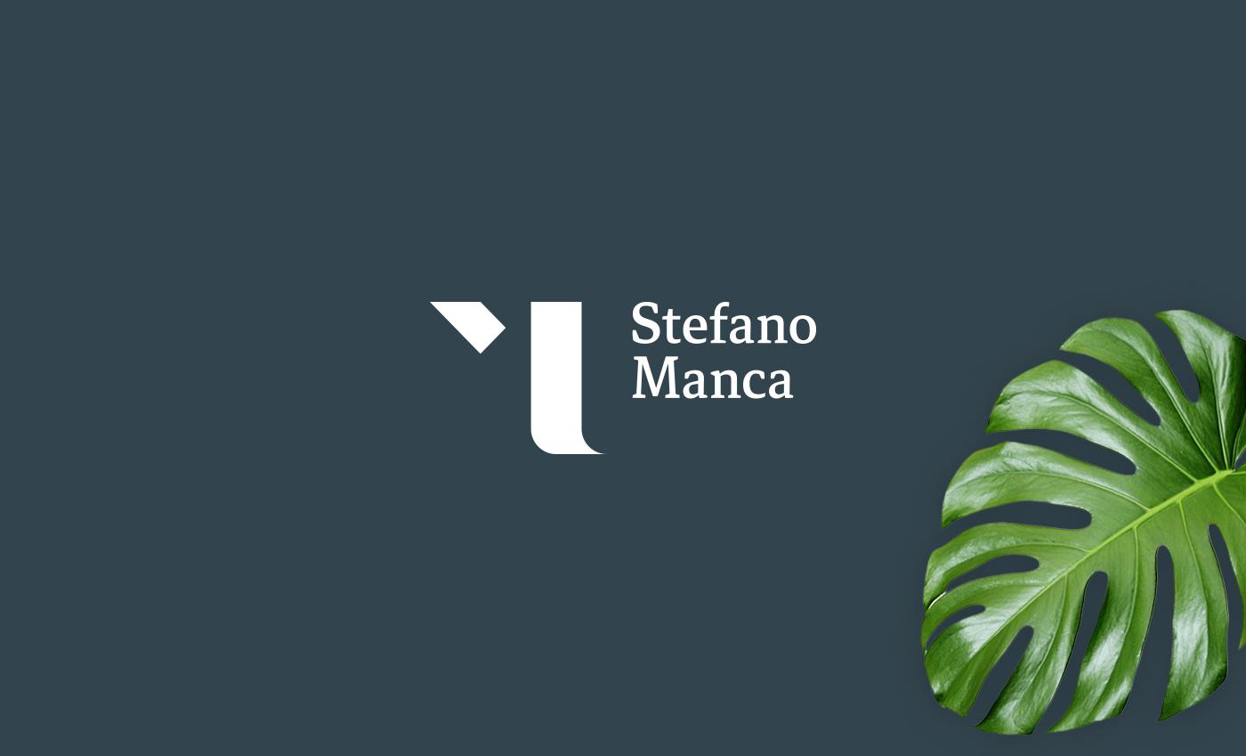 Il logo realizzato segue la linea stilistica utilizzata nel settore finanziario, ovvero una stilizzazione astratta che riprende l'iniziale del consulente, in questo caso la lettera M.