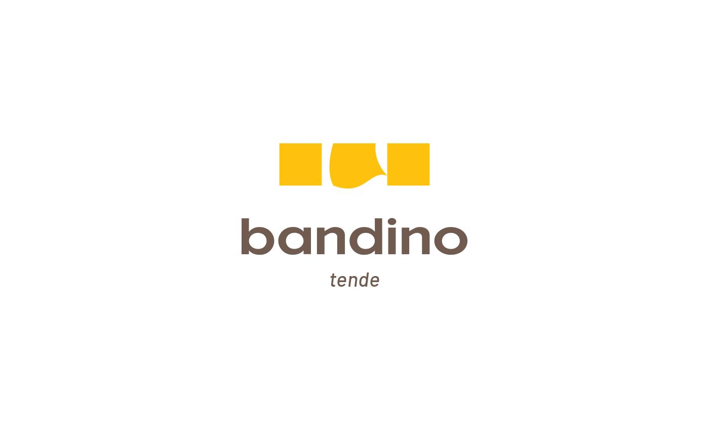 """Il font utilizzato per """"bandino"""" è originale, ovvero è una elaborazione manuale realizzata su misura."""