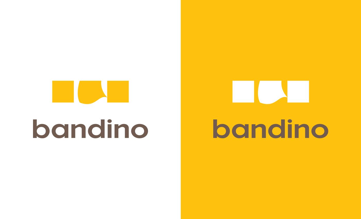 La palette cromatica è formata da 3 tonalità: giallo, bruno e bianco.