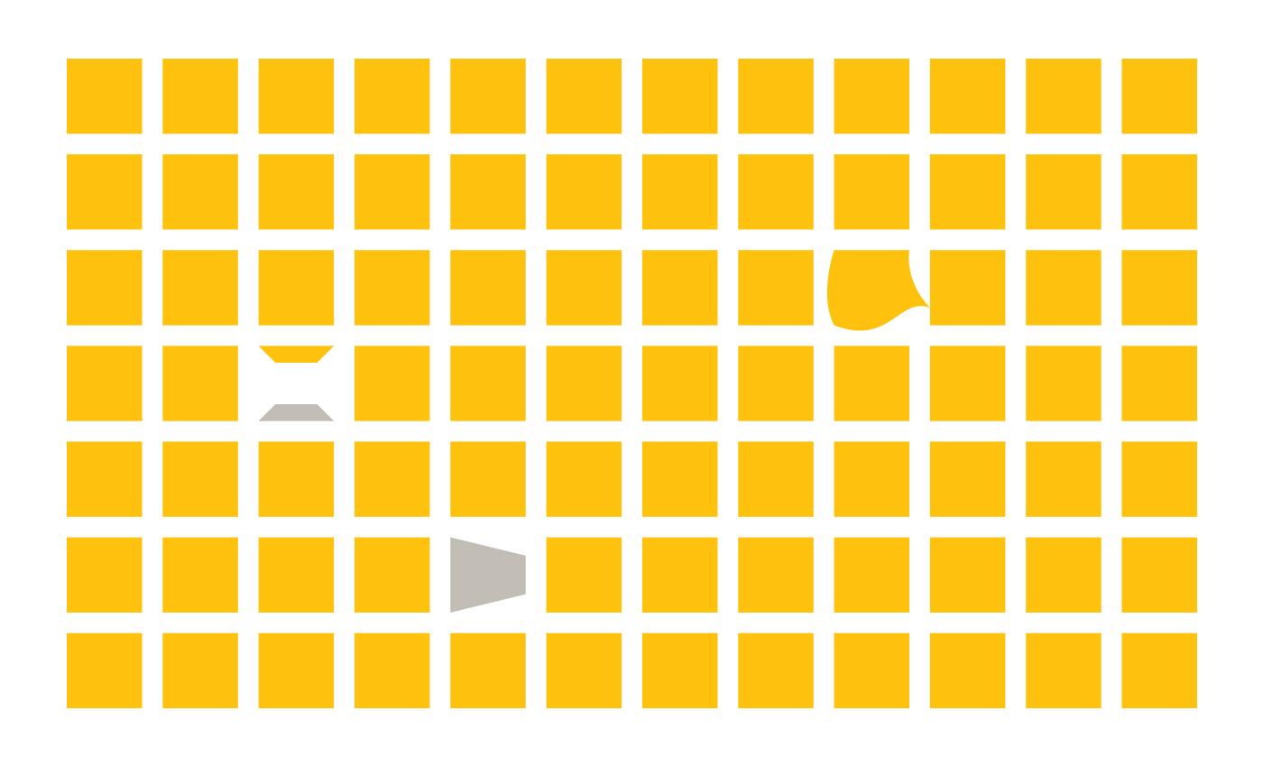Il pattern può essere utilizzato esso stesso come elemento informativo o riempitivo, aumentando la consistency del brand.