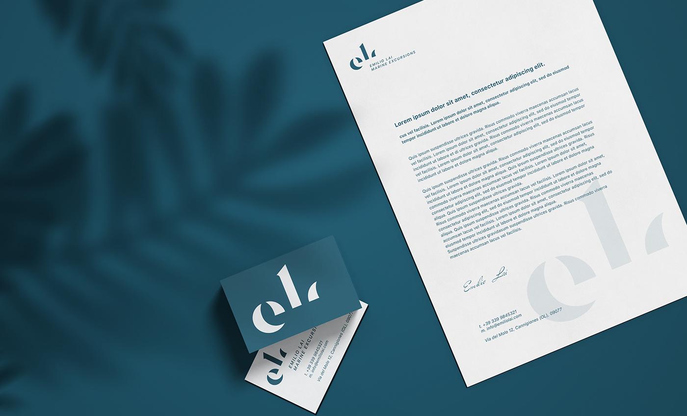 Corporate identity (biglietto da visita e carta intestata).