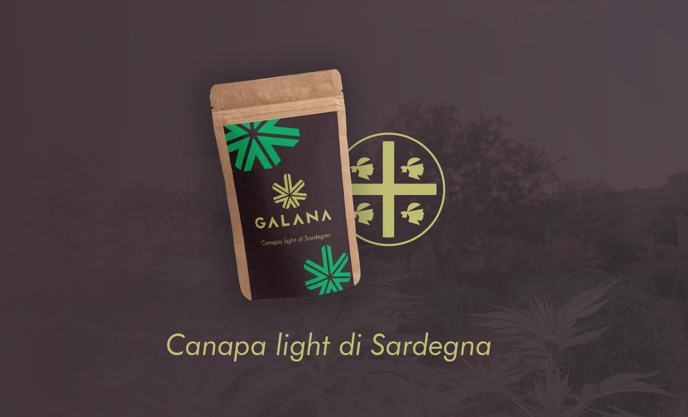Abbinamento del brand con una stilizzazione dei 4 mori, simbolo della Sardegna.