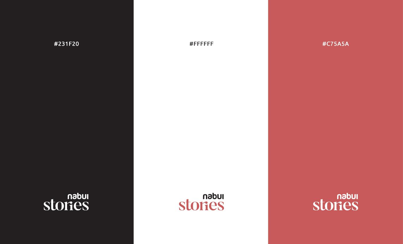 L'accostamento cromatico abbina al bruno dell'attuale brand, un rosso desaturato per evocare un mood più vintage e storicizzante.