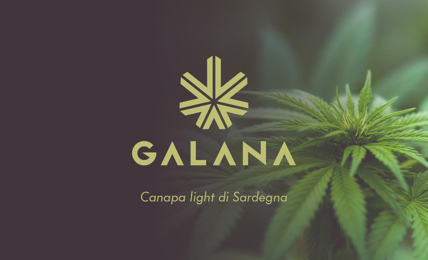 Galana in lingua sarda significa elegante, per questo il concept del brand doveva partire da un'idea di raffinatezza estrema. La qualità dell'erba legale sarda è nettamente superiore rispetto ai competitor e questa è la base su cui si sviluppa l'itero progetto.