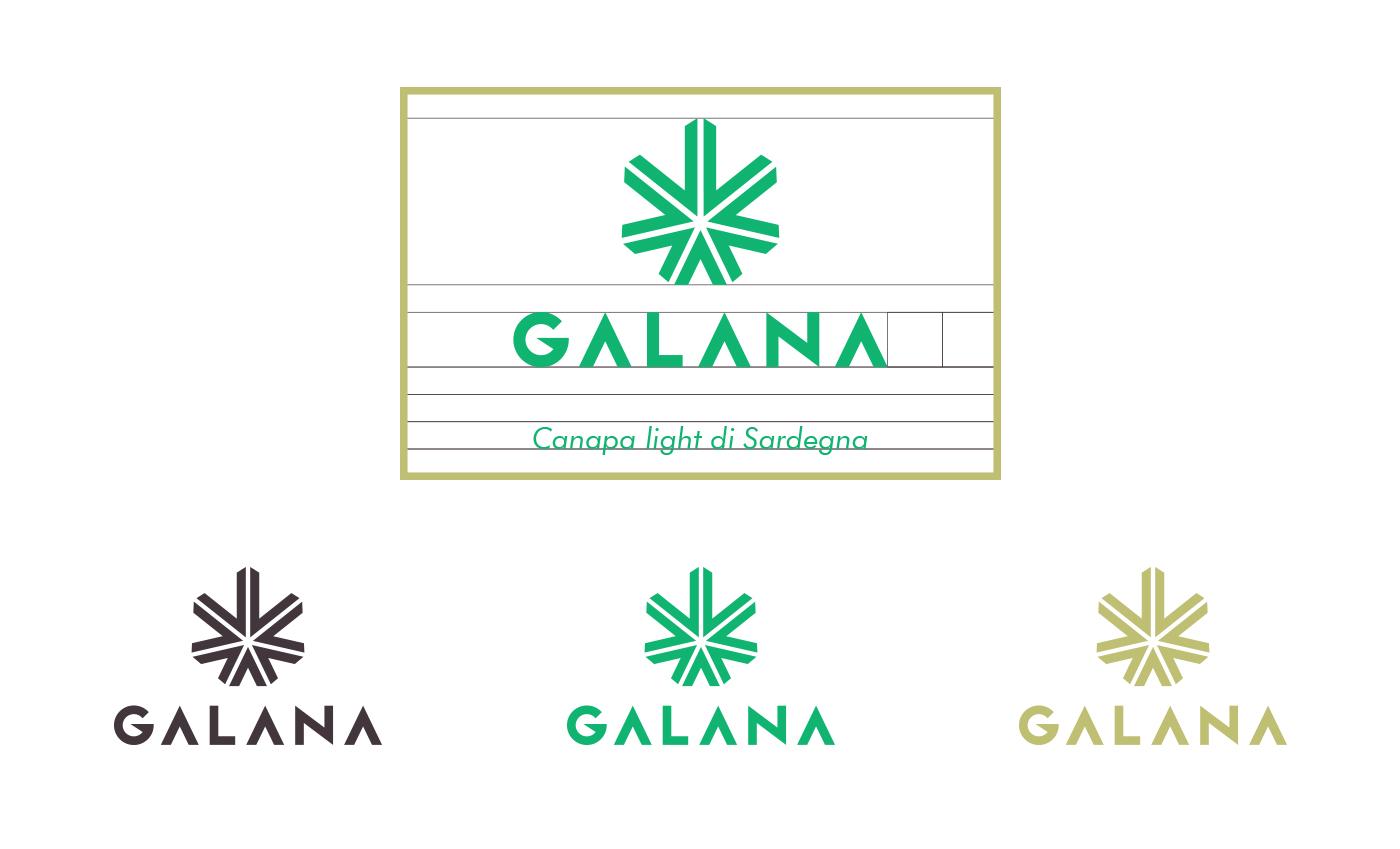 La griglia di costruzione del marchio è una evoluzione verticale della gold ratio che permette al logo una estrema facilità di lettura.