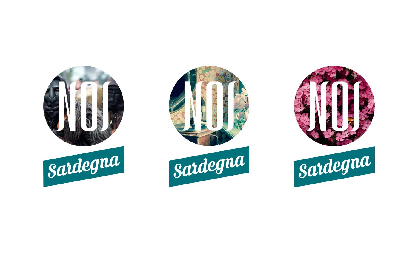 """La brand identity ruota intorno all'idea di dinamicità tematica, per cui il marchio stesso diventa oggetto della declinazione, una strada molto simile a quella adottata dallo storico logo di Mtv. La scritta """"Sardegna"""" potrà essere omessa se utilizzata sul profilo social."""